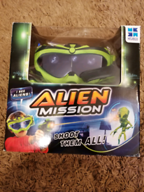 Alien Mission - Electronic shooting game.