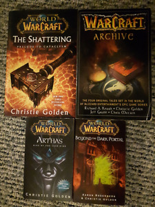 4 Warcraft books