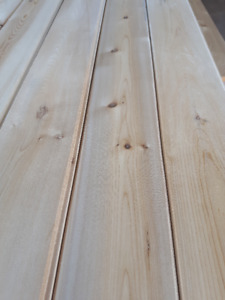 Eastern White Cedar planed and rough