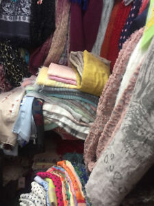 Pashminas & Scarves - 5 Bucks only!