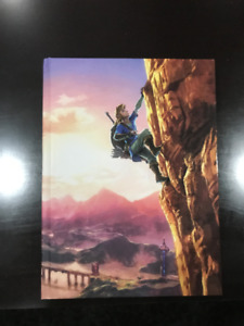 The Legend of Zelda: Breath of the Wild Game Guide CE (MINT)