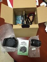 Canon Rebel T2I - barely used original package with 32 GB card
