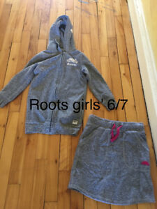 Roots hoody and skirt