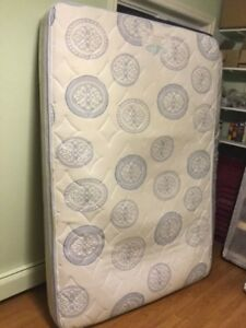 free delivery- 2yr old double mattress and boxspring