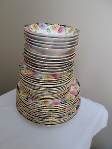 "vintage Paragon fine bone china "" Mums "" various dishes"