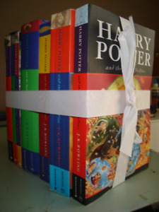 Complete Harry Potter Collection Book Set