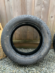 Truck Tires - used - for sale $125 obo
