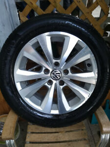 auto tires VW Golf, Jetta 2015-2019