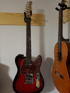 Telecaster - Squier Standard guitar - with USA (Fender) pickups
