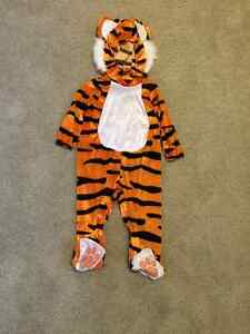 Size 2 Tiger Costume