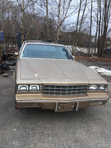 1984 Monte Carlo Parting Out