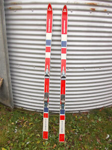 Downhill skis with poles. Windsor Region Ontario image 1