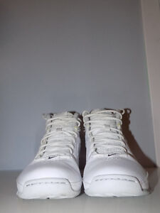 white NIKE AIR visi pro 3 (women basketball shoes)