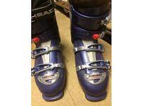 Ski boots, size 6