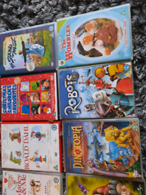 Set of 10 Childrens DVD's - various in good condition