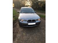 BMW 318ti msport coupe compact low miles px car or bike cash either way