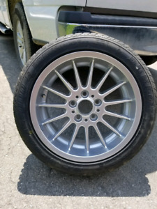 """BMW Style 32 17""""X8"""" Spare Tire Mint Condition"""