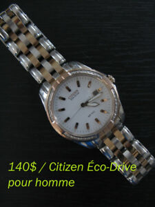Belle Montre CITIZEN à **DIAMANTS** à 140$!