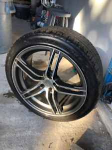 235/40r18     Low   Profile   Sports    Rims  with   Good tires