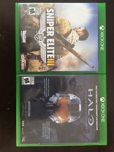 I have two Xbox one games they are in mint condition.