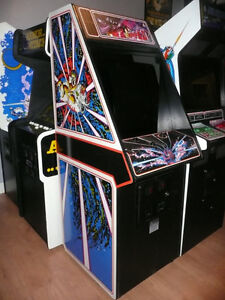 Atari Tempest and Dig Dug arcades