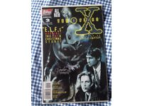 The X Files. Signed comic