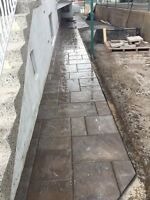 Worker needed for pave Uni , landscaping