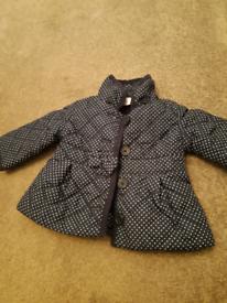 Junior j coat. 3-6 months girls