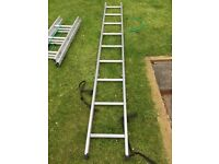 Surveyor 6 section aluminium ladder