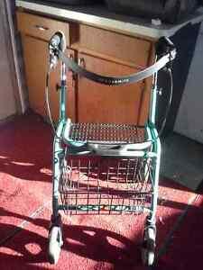 DOLOMITE foldable walker with basket $60.