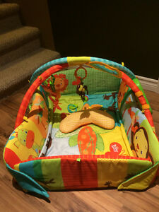 Bright Starts Baby's Play Place Playmat