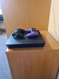 PS4 Pro 1TB, 2x Controllers, All cables - Excellent condition.