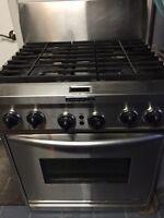 Cuisinière au gaz et électrique / Gas range
