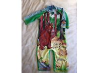 Child's swim suit - The Gruffalo age 3-4yrs age