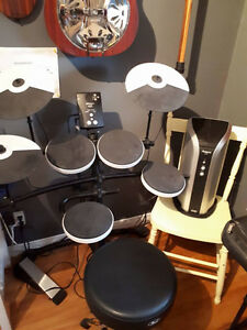 Drums - Roland TD-1K and Roland PM-03