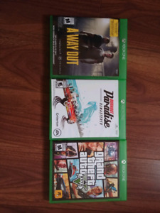 Selling xbox one games.