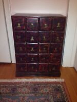 small drawer unit from India