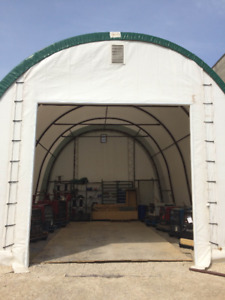 Pre-Engineered Fabric Building 24x40 - Call 204-541-0300