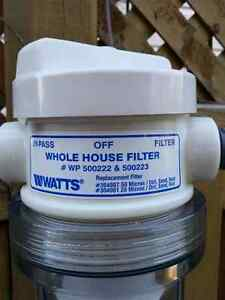 REDUCED PRICE   Watts whole house filter