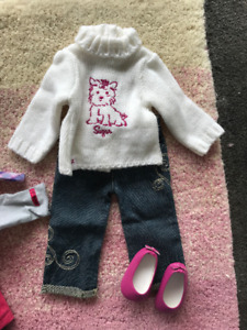 American Girl: casual outfit