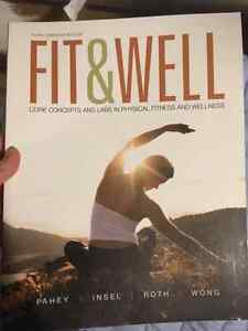 Fit & well text book Kitchener / Waterloo Kitchener Area image 1