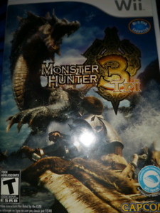 MONSTER HUNTER 3 NINTENDO WII WII U