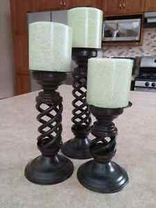 Candle Pillars - Pier One