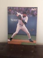 Derek Jeter New York Yankees Rawlings baseball poster board sign