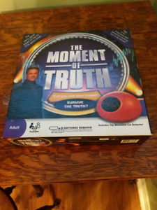 The Moment of Truth Board Game