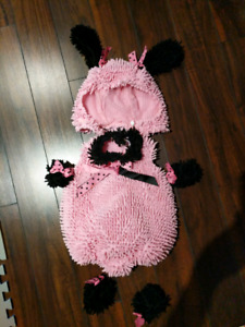 Poodle 2t Halloween costume pink