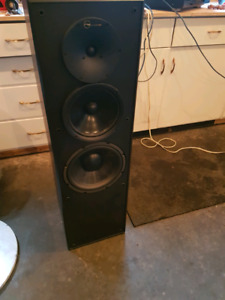 Nuance powered tower speakers