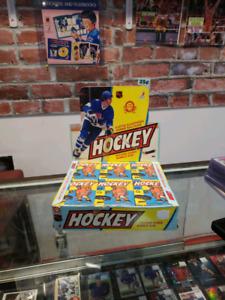 1983/84 OPC Hockey Card Wax Pack Gretzky Lindberg Stevens Rookie