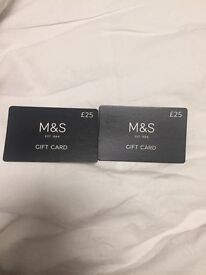 £50 M&S gift card