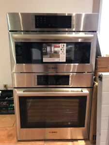 Price Lowered -BRAND NEW - Bosch Convection Combo Oven/Microwave